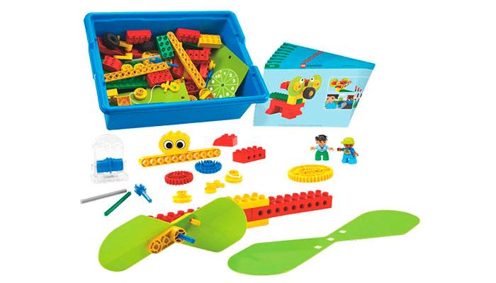Solución curricular de Máquinas simples iniciales lego-9656