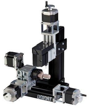 Fresadora CNC de 3 ejes UNIMAT UNI-FRAES-3 (H3 / V3)