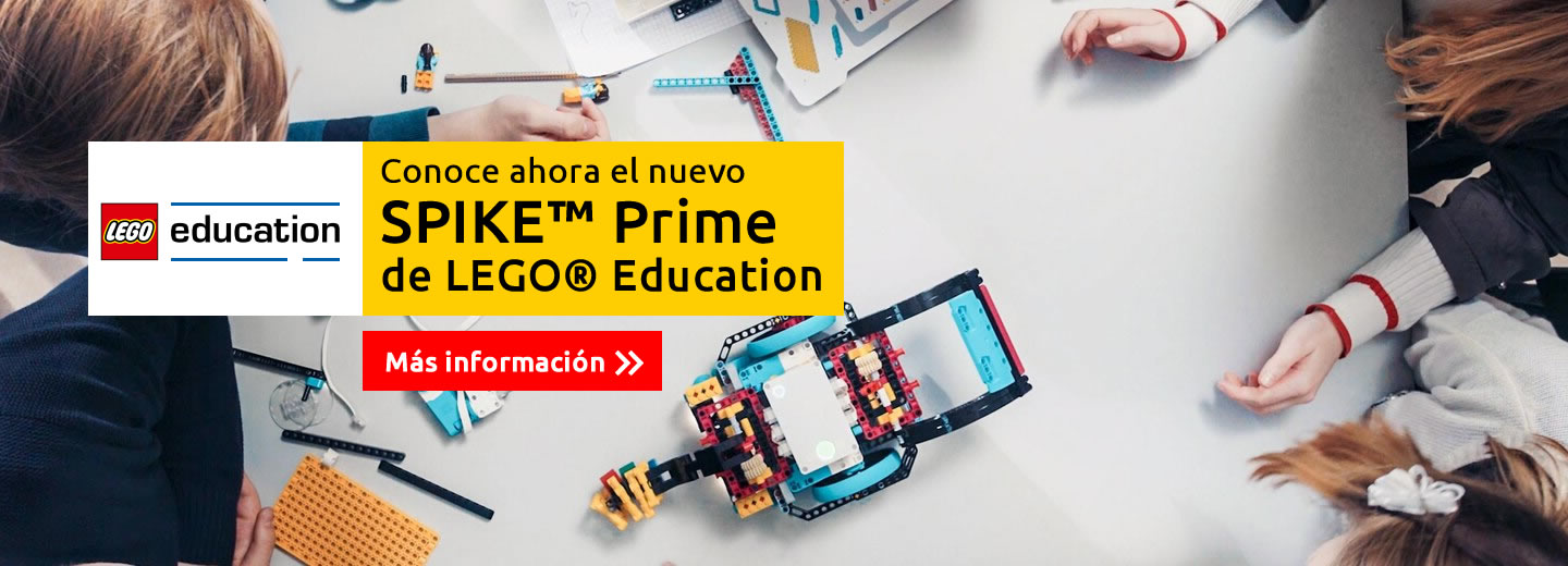 Conoce Spike Prime de Lego Education