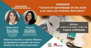 webinar-educativo-arduino-education-aprendizaje-remoto-adtech